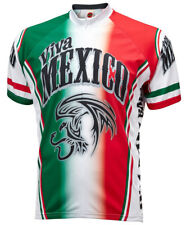 Viva Mexico Cycling Jersey World Jerseys Men's Short Sleeve + socks bike bicycle