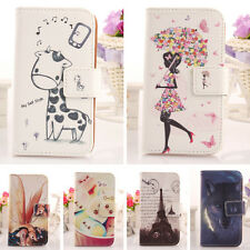 Wallet Book-Design PU Accessory Leather Cover Skin Case Protection For Wiko Iggy