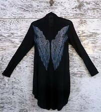 Vocal Cardigan! Beautiful Wing Design Front & Back Plus Bling!!