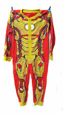 AVENGERS IRON MAN COSTUME Kids Boys Baby Bodysuit Pajamas Sleepwear Clothes 2-7Y