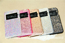 Luxury Bling Swarovski Element Crystal Pouch Cover Case For iPhone 6/6 Plus