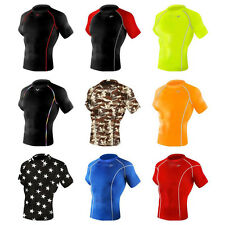 Take Five_Men's Compression short sleeveⅠ_Sports wear_Running_Cycling_Base layer