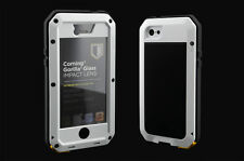 Water/Shock/Dust Proof Aluminum Metal Case With Gorilla Glass For i Phone 5