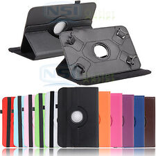 """Rotating Cover Case for 7 Inch RCA 7 iRulu LG G Pad 7 Verizon Ellipsis 7"""" Tablet"""