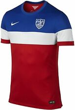 NIKE USA AUTHENTIC AWAY JERSEY FIFA WORLD CUP BRAZIL 2014 US SOCCER TEAM PLAYERS