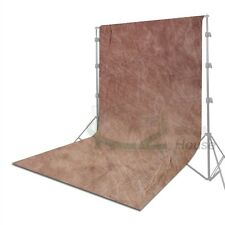 3 Size Photography Hand Painted Brown Muslin Backdrop Studio Tie Dye Background