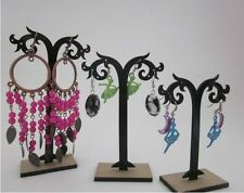 3pcs Earring Necklace Jewelry Tree Display Rack Stand Holder Organizer Sets New