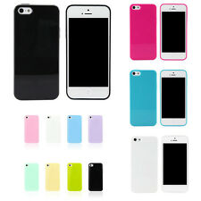 TPU Candy Color Soft Skin Back Case Cover Protector For Apple iPhone 5S 5 3G 4G