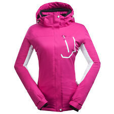 Womens Winter Down Cotton Hooded Coats Outdoor Sport Jackets Skiing Hiking Snow