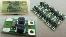 MEHANO H0 Scale SPARE PARTS - PCB with 2 coils for smoothing power on motor