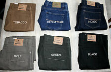 Marks&Spencer Blue Harbour Luxury Mens Stretch Jeans 9Colours Size30-50 RRP £39
