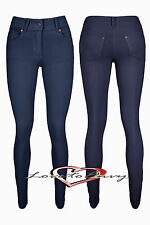 Womens Coloured Skinny Jeggings Jeans Leggings STRETCH Fit Trousers Size 8 - 14