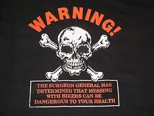 Warning Bikers Can Be Dangerous T-Shirt, Mens or Womens Style T's, S-3X, 5 Color