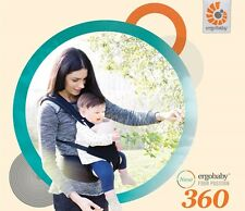 New Ergobaby Ergo Baby Four Position 360 Baby Carrier