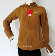 NEW THE NORTH FACE Flurries Hoodie Women's Fleece Jacket Bronx Brown MSRP $80