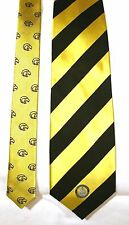 2 SOUTHERN MISS GOLDEN EAGLES Silk Tie New University of Southern Mississippi