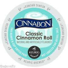 Cinnabon - CLASSIC CINNAMON ROLL COFFEE - K Cups for Keurig Brewers