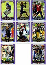 2014 Topps Chrome Football Purple Refractor Parallel You Pick Finish Your Set