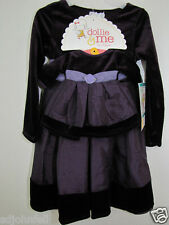 """NEW Girl Matching Holiday Dress fits 18"""" Doll NWT Sz  5"""