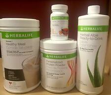 NEW HERBALIFE FORMULA 1, PERSONALIZED PROTEIN, ALOE & TEA - FREE FEDEX SHIPPING