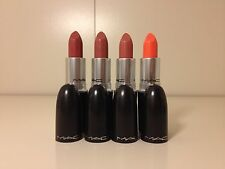 MAC Satin lipstick 4 colors of your choice- same business day shipping!