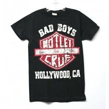 Motley Crue Bad Boys Hollywood T-shirts for Men.
