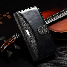 For iPhone 6 & 6 Plus iPhone 4S 4 iPhone 5S 5 Case Leather Stand Wallet Cover