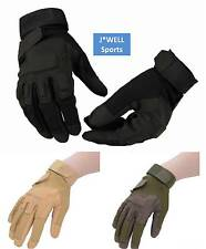 Outdoor Full Finger Military Tactical Airsoft Hunting Bike Bicycle Gloves M L XL