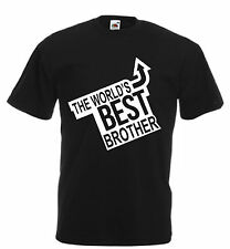Worlds Best Brother adults kids funny t shirt birthday xmas gift humour mens
