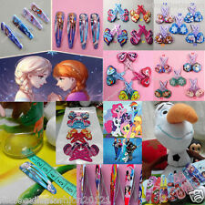 Super Cute Snap Lovely Kids Girls Princess My Little Pony LOVE Hair Clips Lot