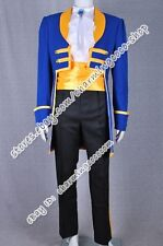 Beauty And The Beast Movie Costume Prince Adam Cosplay Gentleman Outfits New