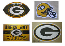 Green Bay Packers Decal Sticker NFL Football Licensed - Choose You Item