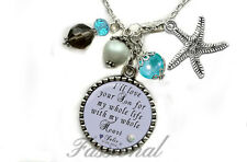Personalized  Mother of the Groom Wedding Gift Necklace
