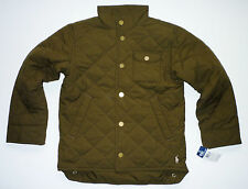 BOYS 6-7 & 8-9  POLO RALPH LAUREN LT.QUILTED JACKETS RRP £120.00 - SAVE + 50% !