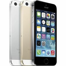 Apple iPhone 5s (Factory Unlocked GSM) Gray, Gold, Silver 16GB 32GB 64GB (B)