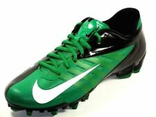 NIKE VAPOR PRO TD Low Football Lacrosse Cleats Shoes green black SIZE 13.5