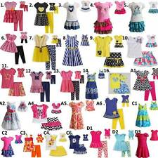 "Dollie Me  2T-14 and 18"" doll matching outfit Dress clothes fit american girls"