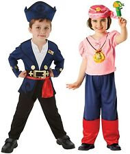 Girls Boys Jake and the Neverland Pirates Book Day Fancy Dress Costume Outfit