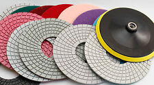 Diamond Polishing Pads 7 inch Wet or Dry Granite Tile Marble Concrete Stone