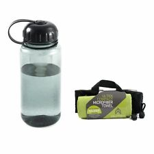 McNett Outgo Microfiber Fitness Towel & 34oz Water Bottle Combo (Various Colors)