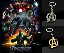 "New Arrival Colors Keyring Keychain Film Collections The Avengers ""A"" Symbol"