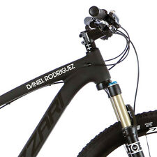 2X Personalised Frame Name for Mountain bike Road Cycling .  Custom Stickers m34