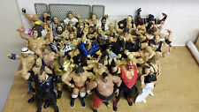 WWE FIGURES FROM CLASSIC SUPERSTAR & LEGENDS POSTAGE 1-8 JUST £2.80 P&P