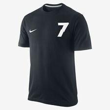 NIKE CR7 CRISTIANO RONALDO HERO TEE T-SHIRT 2014/15 BLACK/WHITE