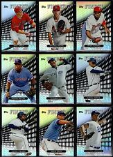 2013 Topps Finest Refractor Parallel You Pick #1-#30 Includes with RC & Stars
