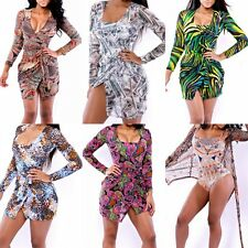 Women's Beach Cover Up Wear Swimwear Swimsuit Chiffon See-Through Outfits