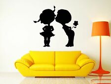 Kiss Kissing Couple Romantic Love Kids Flower Decor For Pop Art Bedroom (z2579)