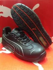 Men's Puma Athletic Black Steel Toe Work and Safety Shoes 642625
