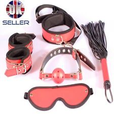 EXTREME SEXY BDSM UK BONDAGE RESTRAINTS KIT GEAR SYSTEM WRIST CUFFS GAG COLLAR