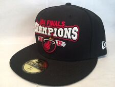 Miami Heat 59Fifty New Era NBA 2012 Champions Fitted Cap Hat $36